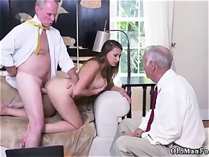 nail his elderly acquaintance playfellow s sister Ivy amazes with her ginormous joy bags and butt