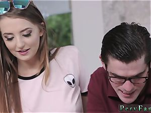 dad seduces teen patron buddy s daughter first time The Sibling investigate And inhale